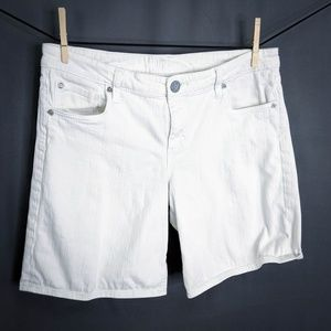 Kut From The Kloth Jean Shorts Size 10 White Women